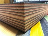 Dyed veneer laminated wood / blank