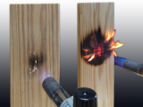 Fire retardant treated wood